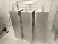 Стеллаж металлический криогенный для хранения криобоксов