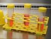 Штатив S для центрифужных пробирок, 18 х 15 мл или 10 х 50 мл, PP, стерильный