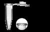 Пробирки микроцентрифужные Expell Secure 1.5 мл, тонкостенные, с плоскими крышками, крышки с защелкиванием