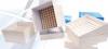 Криобокс картонный CAPP Expell B10, для криопробирок на 2 мл, с разделителем на ячейки 10*10