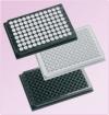 Планшеты 96-луночные белые, рабочий объем лунки 350 мкл, лунки отдельные, непрозрачное дно, полистирол, с крышкой, стерильные, для люминесценции