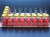 Платформа для биореакторов TPP TubeSpin 600, вместимостью 32 (8х4), подходит для шейкеров Infors Multitron Pro